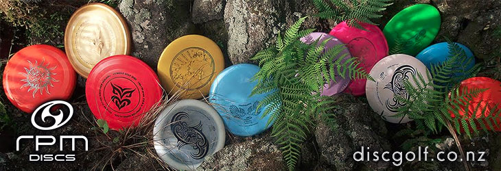 RPM Discs stocked by discgolf.co.nz